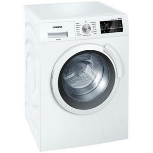 SIEMENS Waschvollautomat  WS 12 T 440 - weiß - Metall, Edelstahl, Kunststoff, Glas - 60 cm - 85 cm - 45 cm   Möbel Kraft