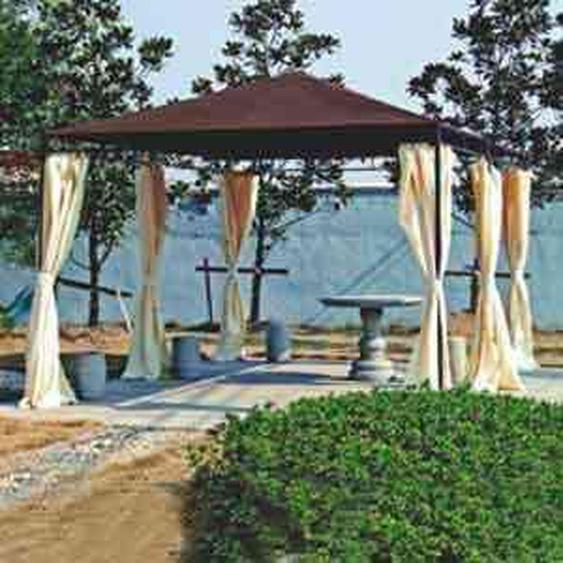 Siena Garden Ersatzdach für Pavillon Tosca mocca 3 x 4m Braun
