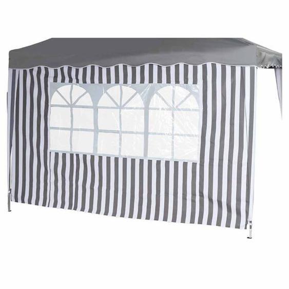 Siena Garden Faltpavillon Seitenteile 2er Set 294x191cm