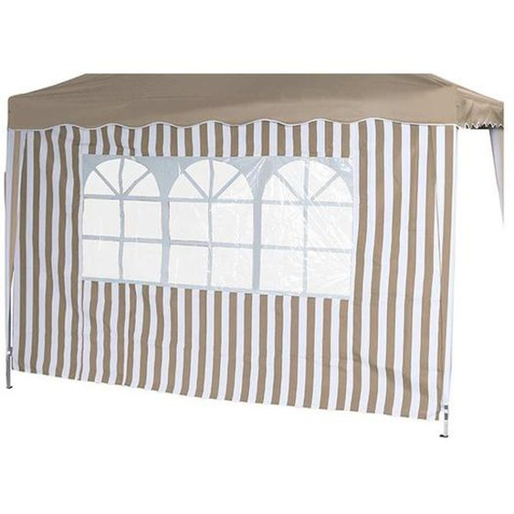 Siena Garden Faltpavillon Seitenteile 2er Set 294x191x0cm