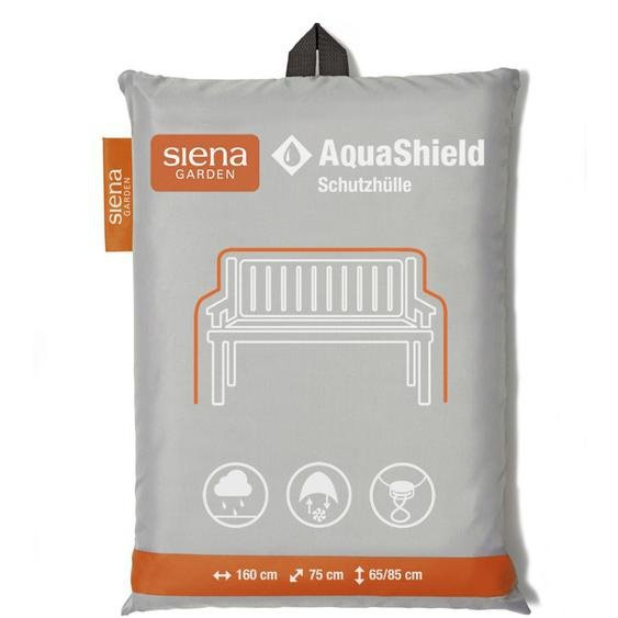 Siena Garden Schutzhülle Bank 3-Sitzer AquaShield Hellgrau 160 x 75 x 65 - 85 cm