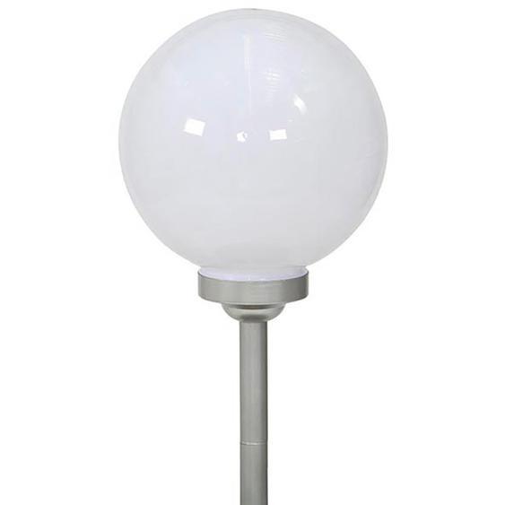 Siena Garden Solar-Leuchtkugel Kunststoff 4 LED Ø 30 cm x 66,5 cm