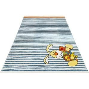 Sigikid Kinderteppich Semmel Bunny, rechteckig, 13 mm Höhe B/L: 133 cm x 200 cm, 1 St. beige Kinder Kinderteppiche mit Motiv Teppiche