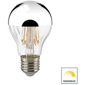 Sigor LED Filament Kopfspiegellampe E27 Silber, 7 W, 2700 K, dimmbar