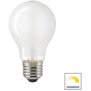 Sigor LED Filament Normallampe E27 matt, 8,5 W, 2700 K, dimmbar