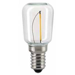 Sigor LED Filament Röhrenlampe S28 E14 klar, 0,5 W, 2700 K, 1. Generation