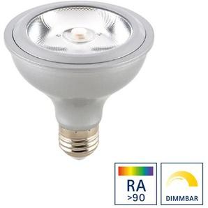 Sigor LED Reflektorlampe PAR30(S) Argent E27, 14 W, Ra90, 3000 K, dimmbar