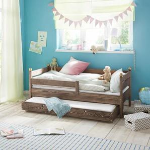 Silenta Kinderbett, Ohne Bettschubkasten, braun