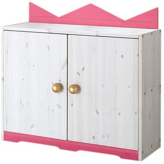 Silenta Kommode 89x30x65 cm weiß Kinder Kinderkommoden Kindermöbel Sideboards