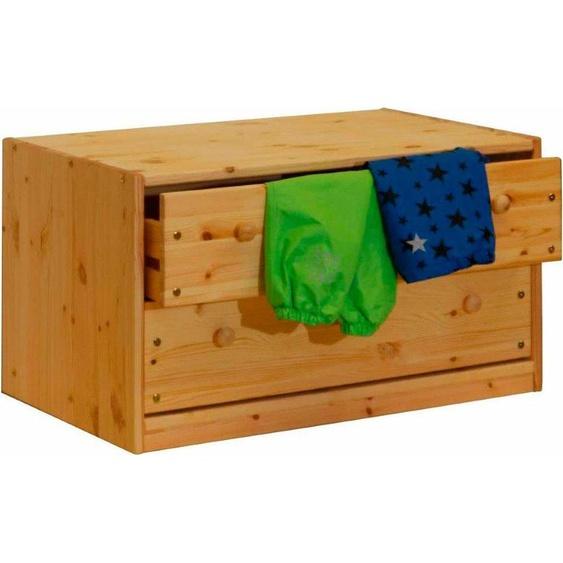 Silenta Kommode 89x51x48 cm, 2 Schubladen beige Kinder Kinderkommoden Kindermöbel Sideboards