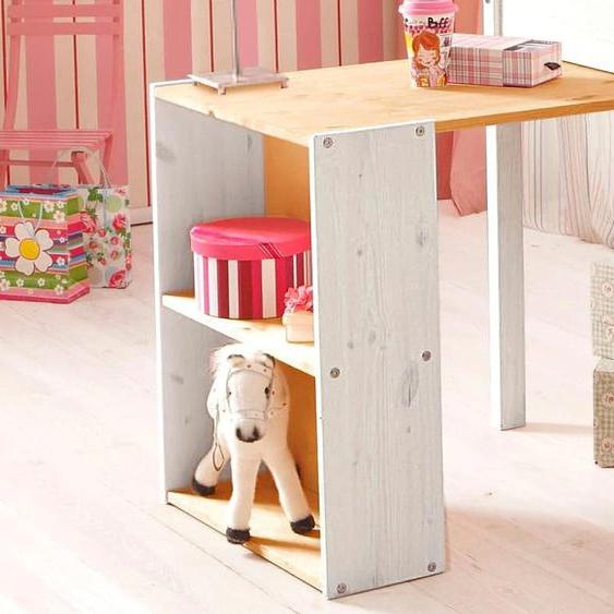 Silenta Schreibtisch Tischplatte: Massivholz, Gestell: Massivholz beige Kinder Kinderschreibtische Kindermöbel Tisch