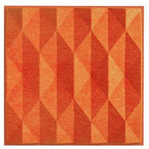 silentec polySONIC®fr 3D Prisma Schallabsorber orange