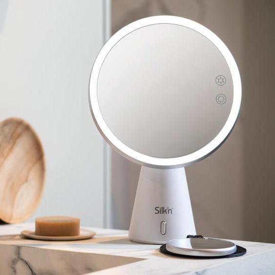 Silk'n LED-Lichtspiegel »Music Mirror« - Weiß -