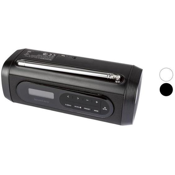 SILVERCREST® Bluetooth Lautsprecher, mit Batterieanzeige