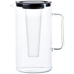 SIMAX Krug mit Einsatz schwarz 2,0 Liter ¦ schwarz ¦ Glas Gläser & Karaffen  Karaffen, Krüge » Höffner