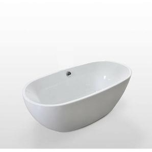 Freistehende Badewanne Modernes und Innovatives Design 170x85cm Carol - SIMBA