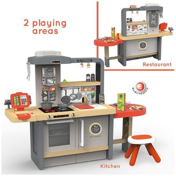 Simba Kinderküche , Mehrfarbig , Kunststoff , 23.5x82x76 cm