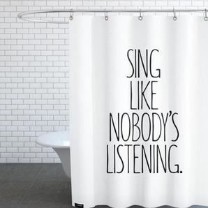 Sing-Duschvorhang
