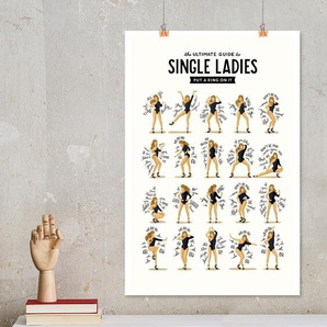 Single Ladies - Draw Me A Song Project - Premium Poster