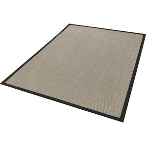 Sisalteppich »Brasil«, Dekowe, rechteckig, Höhe 6 mm, Flachgewebe, Obermaterial: 100% Sisal, mit Bordüre, Wohnzimmer