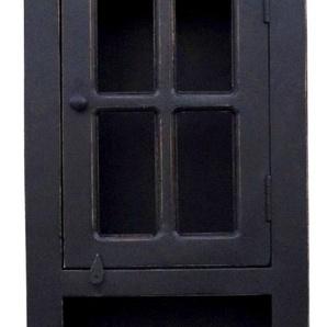 SIT Badkommode, Shabby Chic, Vintage B/H/T: 44 cm x 188 35 cm, Anzahl Schubladen: 1 schwarz Bad-Kommoden Badmöbel Badkommode