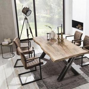 SIT Esstisch »Tops&Tables«, mit Platte aus Mangoholz