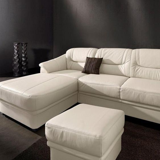 sit&more Ecksofa, inklusive komfortablem Federkern, wahlweise mit Bettfunktion
