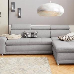 sit&more Ecksofa, inklusive Kopteilverstellung, wahlweise mit Bettfunktion