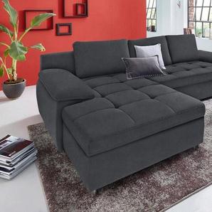 sit&more Ecksofa »Labene«, wahlweise mit Bettfunktion und Bettkasten