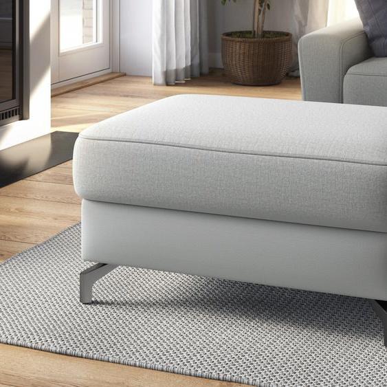sit&more Stauraumhocker, mit Stauraum B/H/T: 102 cm x 48 67 cm, Chenille, grau Sitzhocker Hocker Stauraumhocker
