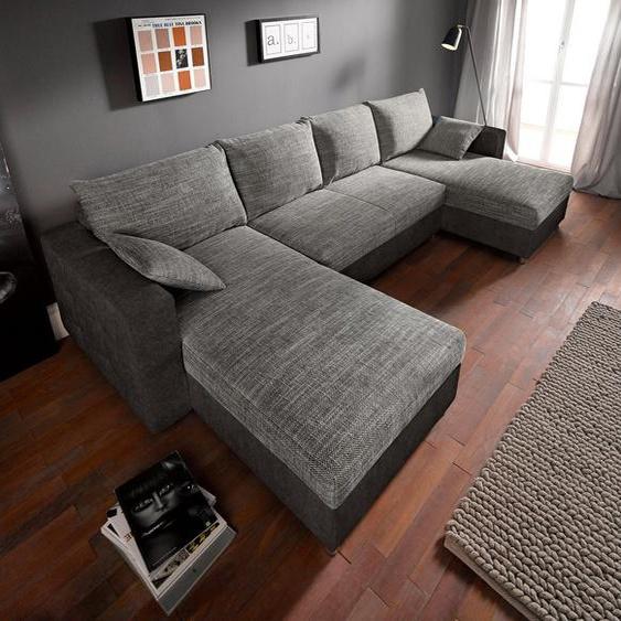 sit&more Wohnlandschaft, inklusive Bettfunktion und Bettkasten