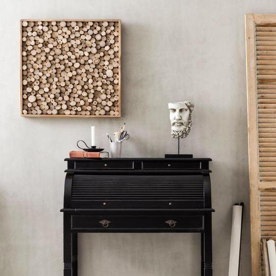 SIT Schreibtisch Samba Tischplatte: Massivholz, Gestell: Massivholz braun Sekretäre Bürotische und Schreibtische Büromöbel Tisch