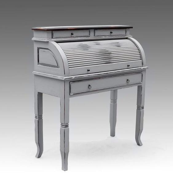 SIT Schreibtisch Spa, Shabby Chic, Vintage Einheitsgröße grau Sekretäre Bürotische und Schreibtische Büromöbel Tisch