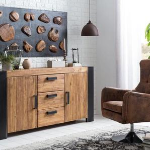 SIT Sessel Sit&Chairs 0, Kunstleder braun Hocker SOFORT LIEFERBARE Möbel