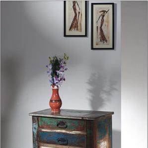 SIT Telefontisch Riverboat, Shabby Chic, Vintage Einheitsgröße bunt Beistelltische Tische