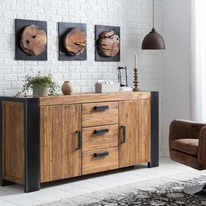 SIT Wandpaneel »Romanteaka«, recyceltes Altholz, Shabby Chic, Vintage