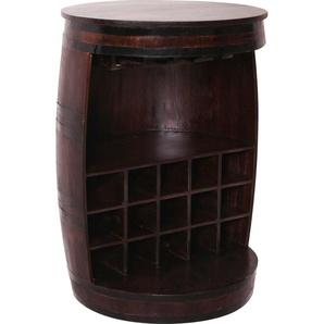 SIT Weinschrank Almirah B/H/T: 67 cm x 90 braun Esszimmertische Tische Nachhaltige Möbel