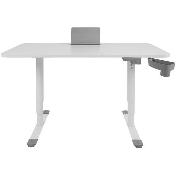 Sitness Schreibtisch, Weiß, Holz