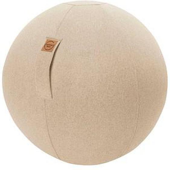 SITTING BALL FELT Sitzball braun