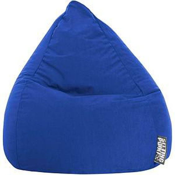 SITTING POINT BeanBag Easy L Sitzsack blau