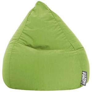 SITTING POINT BeanBag Easy L Sitzsack grün