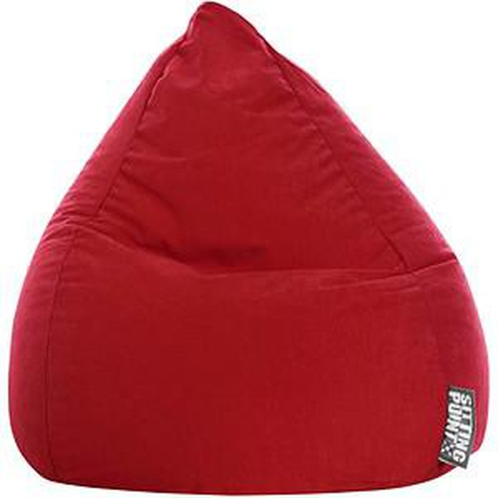SITTING POINT BeanBag Easy XL Sitzsack rot
