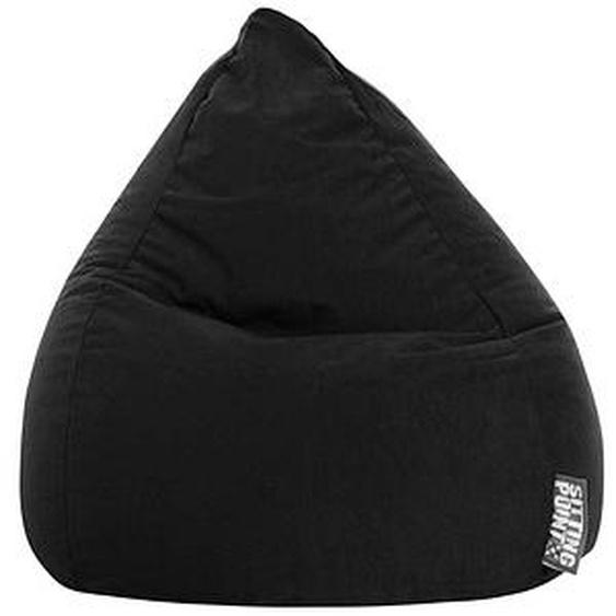 SITTING POINT BeanBag Easy XL Sitzsack schwarz