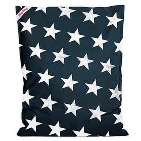 SITTING POINT BigBag STARS Sitzsack blau