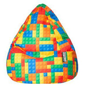 SITTING POINT Bricks XL Sitzsack bunt