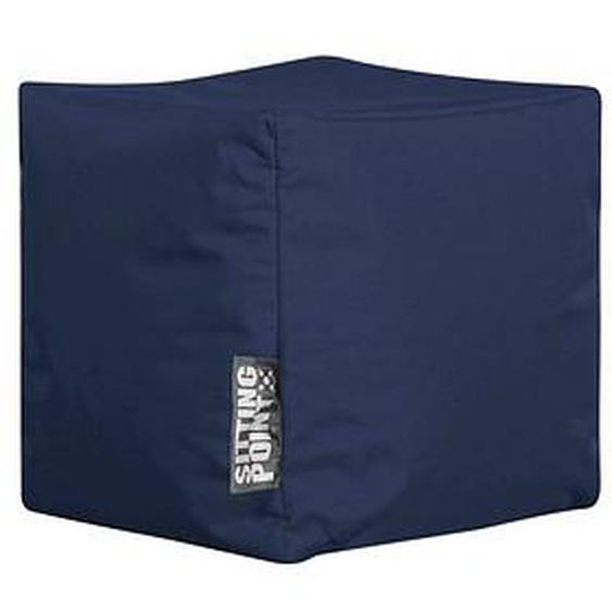 SITTING POINT Cube SCUBA Sitzsack blau