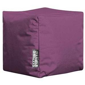 SITTING POINT Cube SCUBA Sitzsack lila