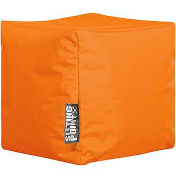 SITTING POINT Cube SCUBA Sitzsack orange