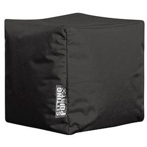 SITTING POINT Cube SCUBA Sitzsack schwarz