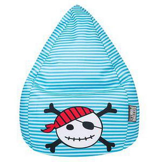 SITTING POINT Pirat L Sitzsack blau
